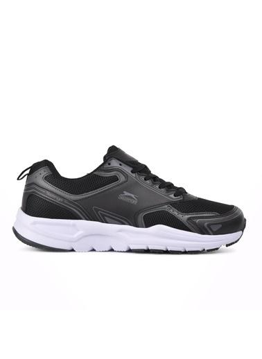 Slazenger Santıago Siyah-Beyaz Erkek Spor Ayakkabı Siyah
